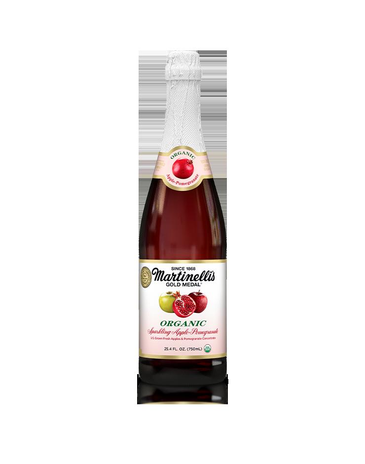 Organic Sparkling Apple-Pomegranate