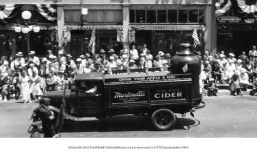 1932 Ford Delivery Truck WWII Parade