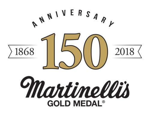 Martinelli's 150th Logo