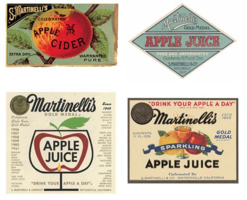 Martinelli's Historical Labels